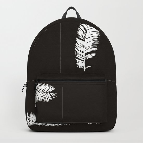Palms Black&White #society6 #decor #buyart Backpack