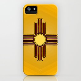 Fancy Flag:  New Mexico iPhone Case