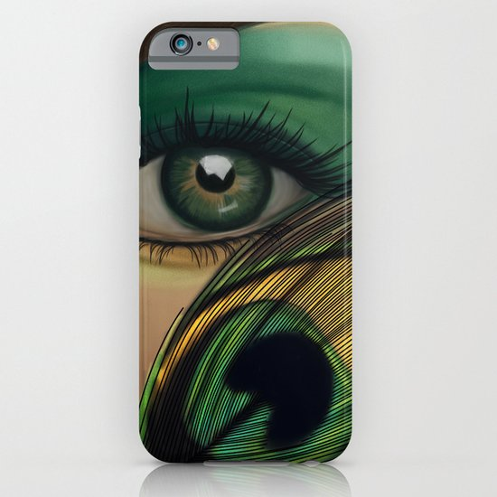 Through The Eye Of A Peacock iPhone & iPod Case