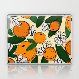 Oranges in Bloom Laptop & iPad Skin