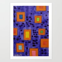 frames Art Prints featuring Illuminated Frames by Heidi Capitaine