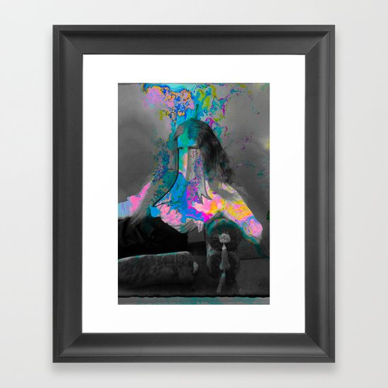 Forming from Within Framed Art Print