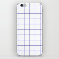 grid iPhone & iPod Skins featuring GRID by G-VNCT