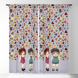 PaperDoll III Blackout Curtain