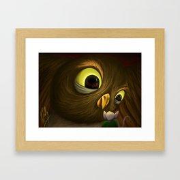 The Silent Beast in the Sky Framed Art Print