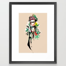 The Art of Frida Kahlo Framed Art Print