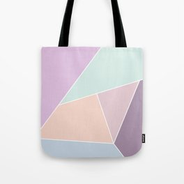 Graphic Pastels Tote Bag