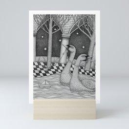 The Star Flowers (2) Mini Art Print