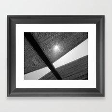 Destello Framed Art Print