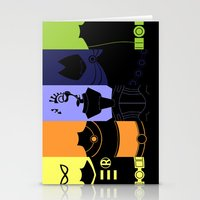 teen titans Stationery Cards featuring Vector Titans by Hybryda