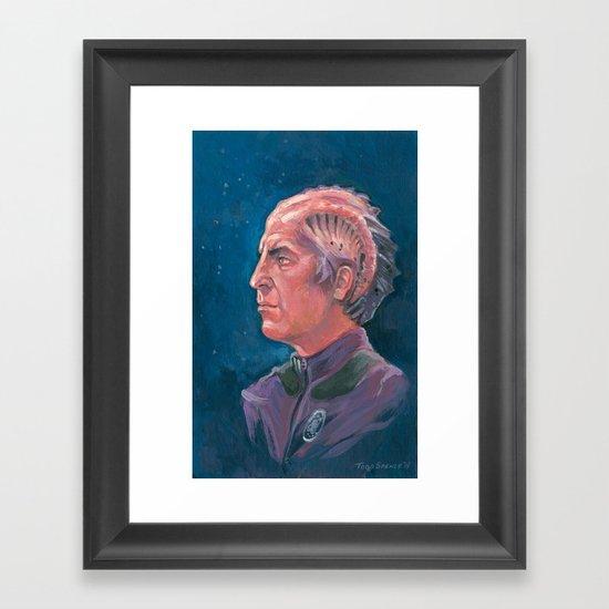 Dr. Lazarus Framed Art Print
