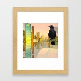 Yes, Boss Framed Art Print