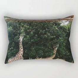 Giraffes Rectangular Pillow