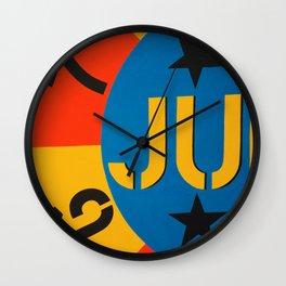 6 7 JU Wall Clock