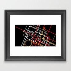 Unidentified Energy Framed Art Print