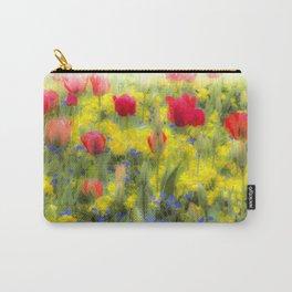 Summer Flowers Art Carry-All Pouch