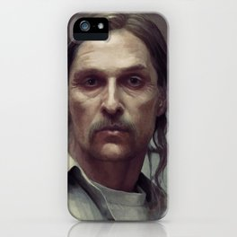 rust cohle iPhone Case
