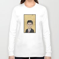 kafka Long Sleeve T-shirts featuring Kafka by Pendientera