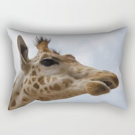Peralta giraffe Rectangular Pillow