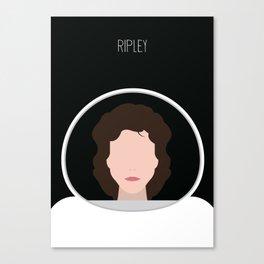 Alien Minimalist Series - Ripley Canvas Print