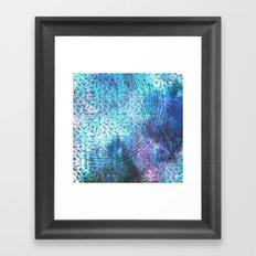 Bird Cosmos Framed Art Print