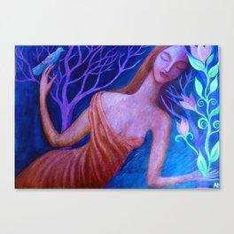 Alicia Canvas Print