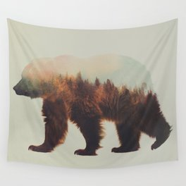 Norwegian Woods: The Brown Bear Wall Tapestry
