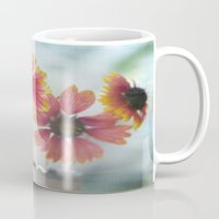 sisters Mugs featuring Sisters by Laura George