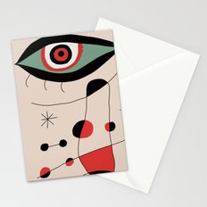 Tribute to J. Mirò (n.1) Stationery Cards