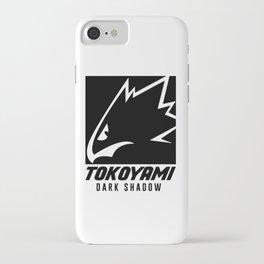 Tokoyami Dark Shadow iPhone Case