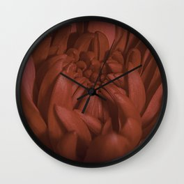 Richly Red Wall Clock