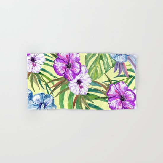 Tropical Summer #3 Hand & Bath Towel