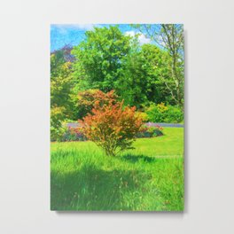 Civic Planting Metal Print