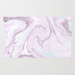 Pink Marble Art Rug