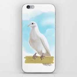 Hand Painting Dove iPhone Skin