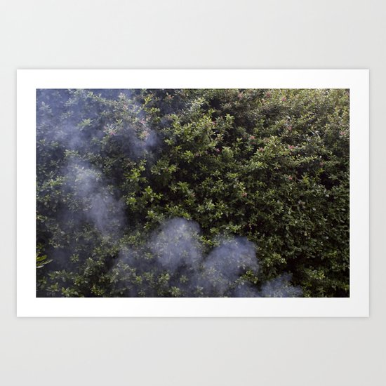 And Smoke Art Print