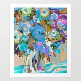 Bloom Fresh, Rest Well Art Print