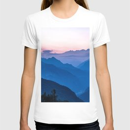 Alps Landscape T-shirt
