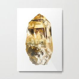 Raw Topaz Metal Print