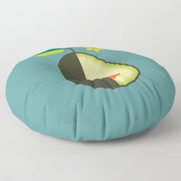 Fruit: Avocado Floor Pillow