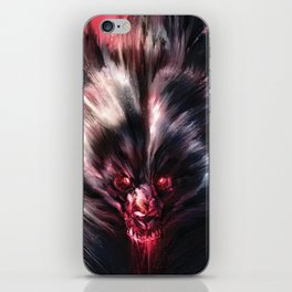 Beware the Werebear! iPhone Skin