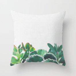 Plant Trio Throw Pillow