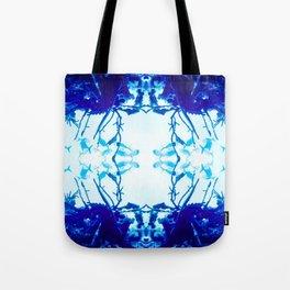 Glass Fish Shibori Tote Bag