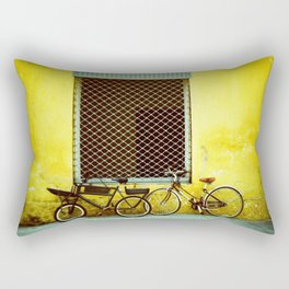 Bicycles Rectangular Pillow