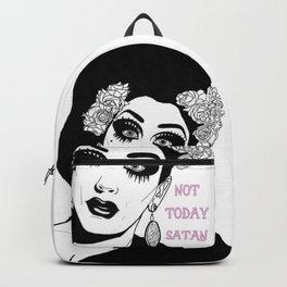 "Bianca del Rio - ""NOT TODAY SATAN"" Backpack"
