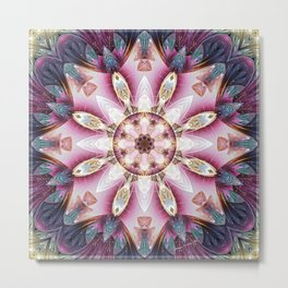 Mandalas from the Voice of Eternity 13 Metal Print