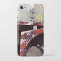 boba iPhone & iPod Cases featuring Boba Fett by Mel Hampson