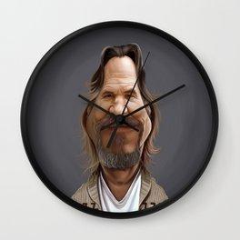 Jeff Bridges Wall Clock