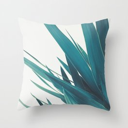 Yucca Leaves II Throw Pillow