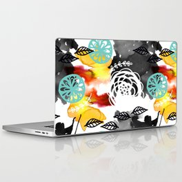 Watercolor Garden Laptop & iPad Skin
